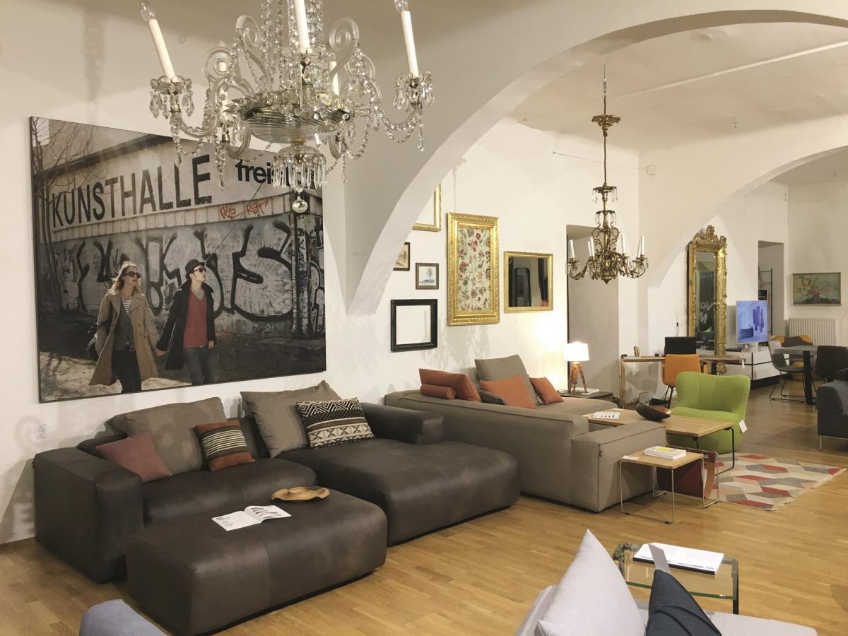 Wohndesign Maierhofer Freistil Rolf Benz Schlafsofa Store Mobel